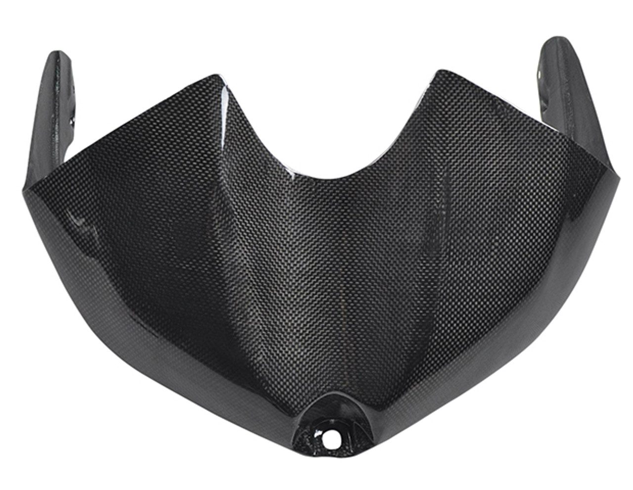 Tank Cover for Yamaha R6 08-16 in Glossy Plain Weave Carbon Fiber