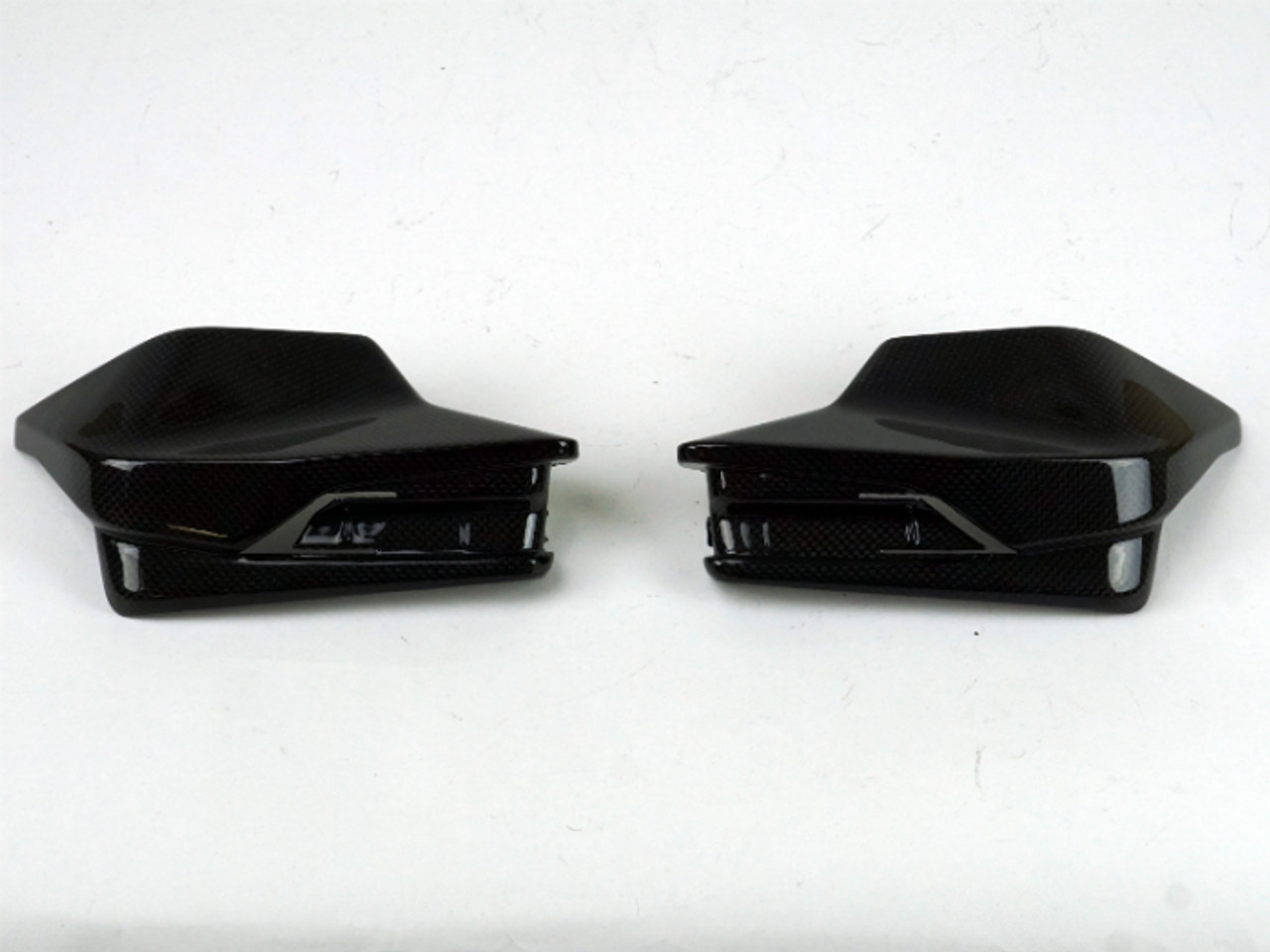 Hand Guards in 100% Carbon Fiber for all KTM 1290 Super Duke R 2014-2019, GT 2017-2020
