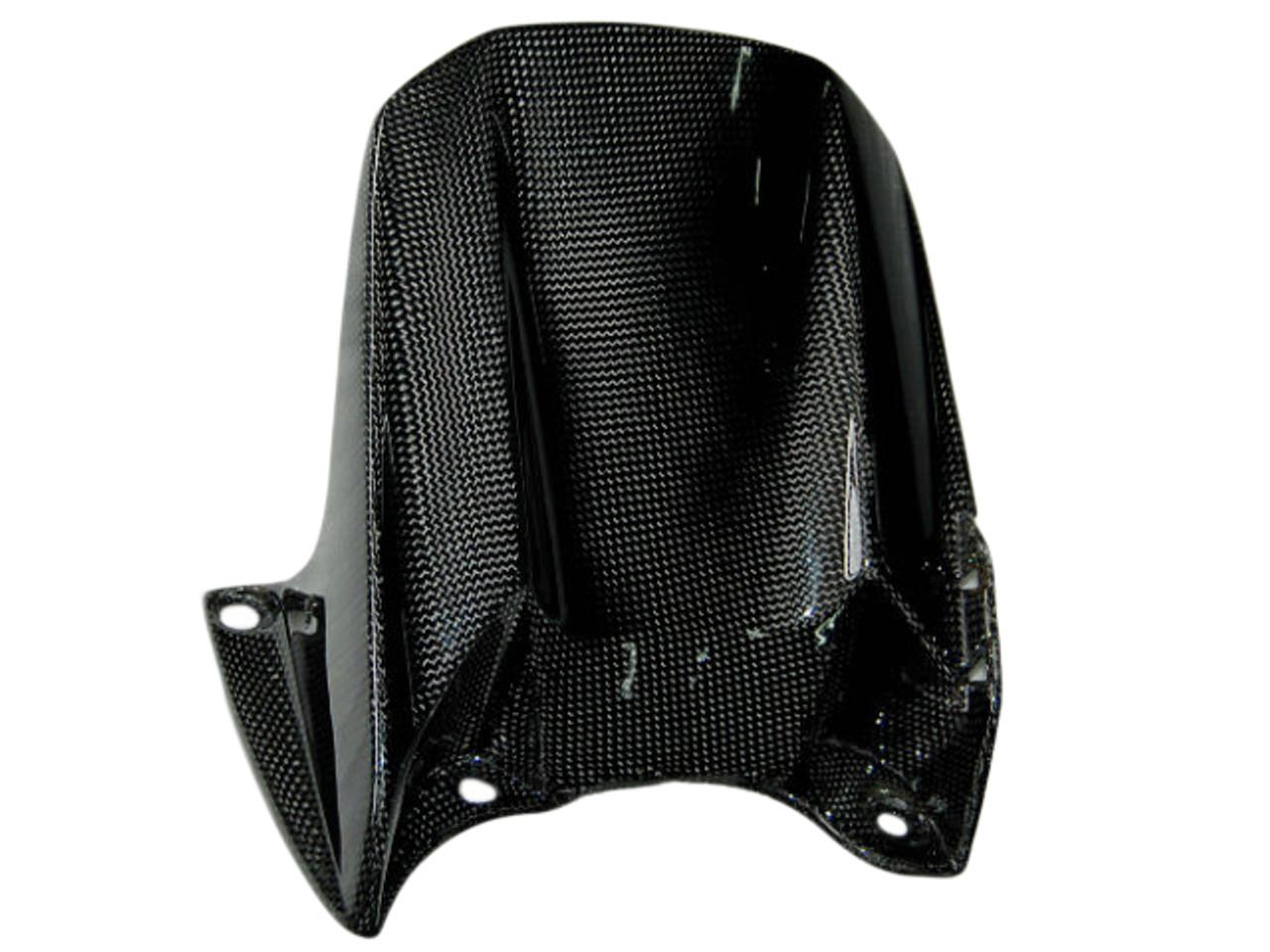 Rear Hugger in Glossy Plain Weave Carbon Fiber for Yamaha R1 04-06