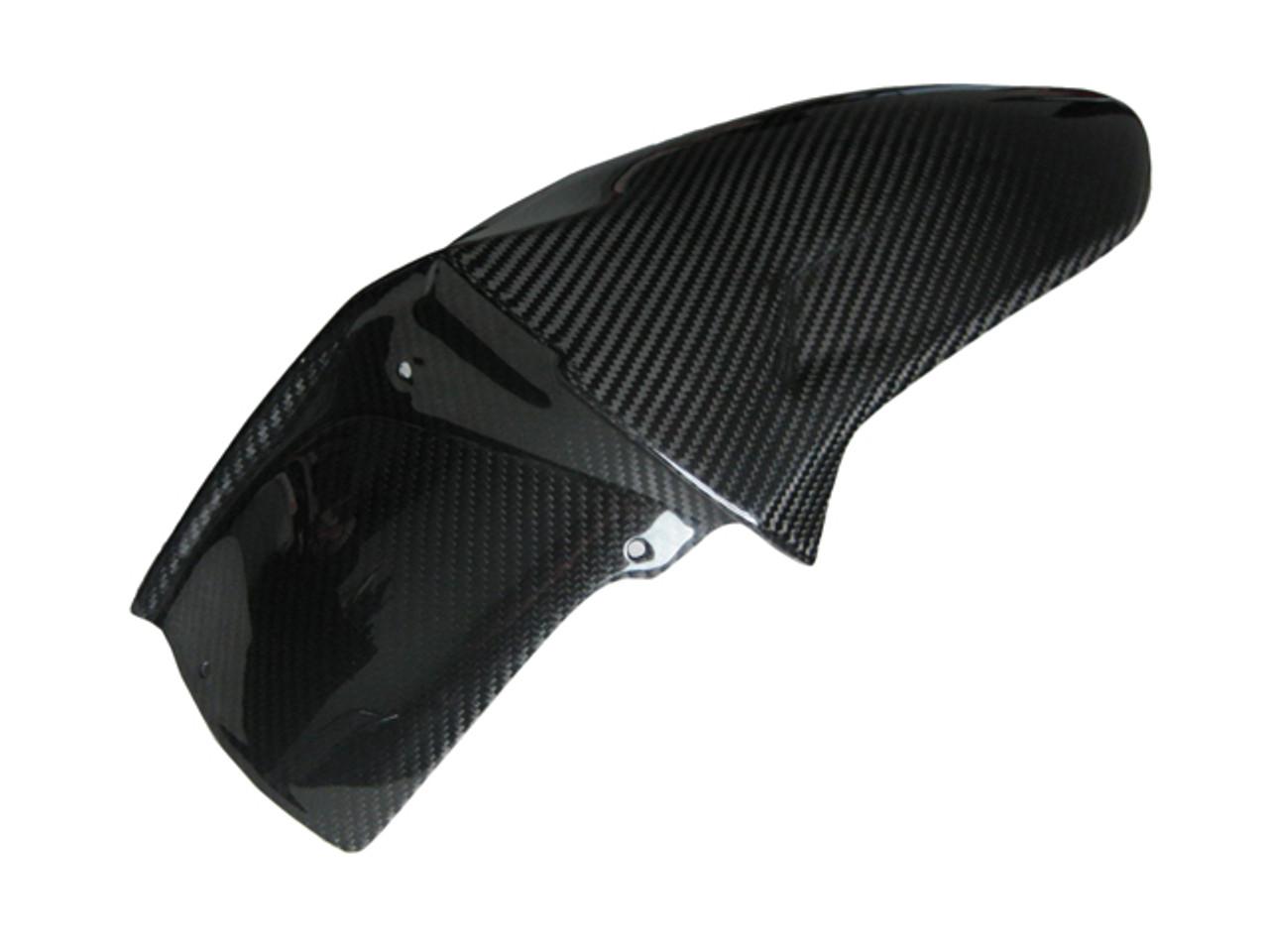 Glossy Twill Weave Carbon Fiber Rear Hugger for MV Agusta F4 2010+, Brutale 920, 990R, 1090RR 2011+