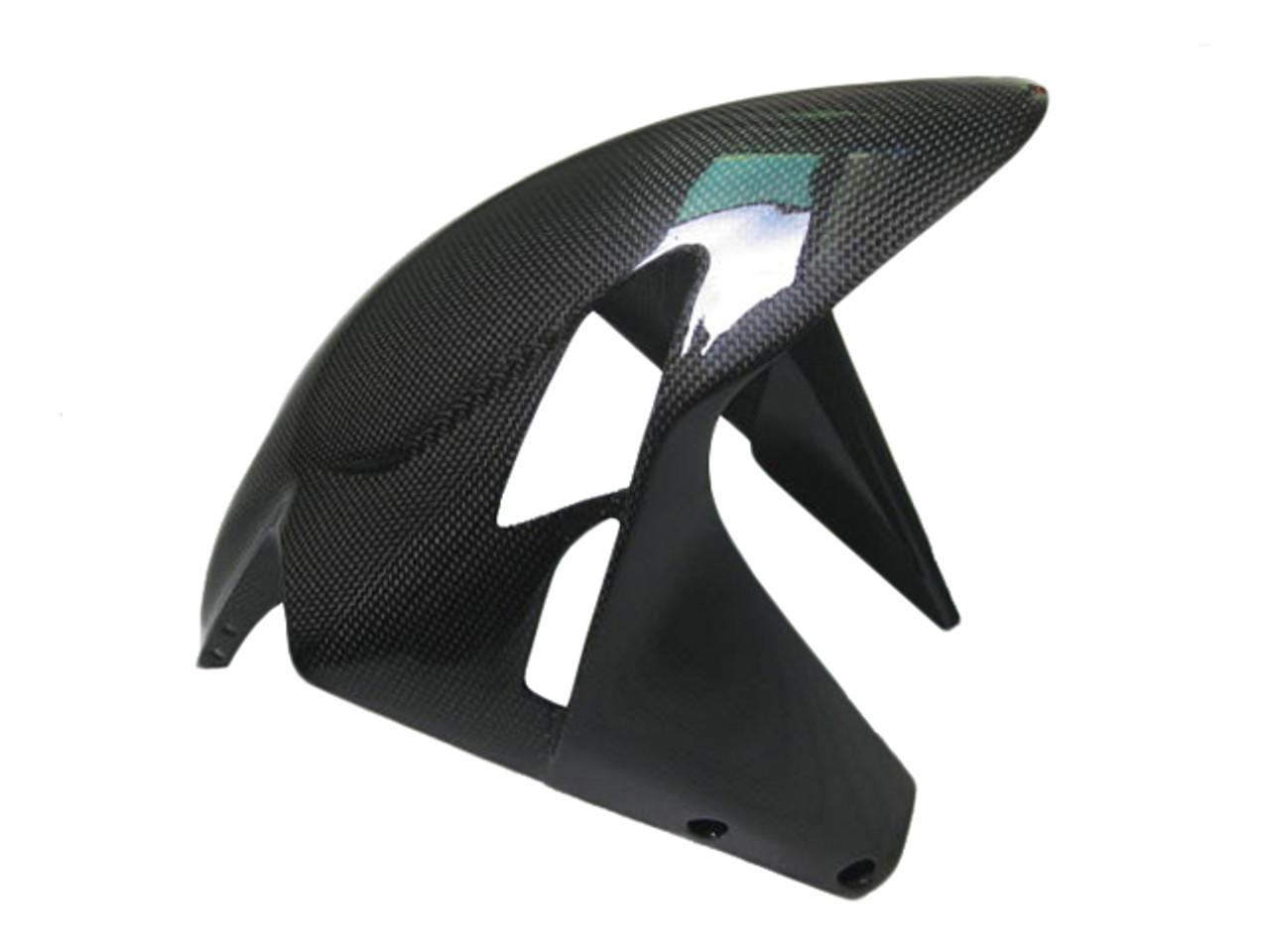 Glossy Plain Weave Carbon Fiber Front Fender for MV Agusta F3, Brutale  675/800 2013-2015