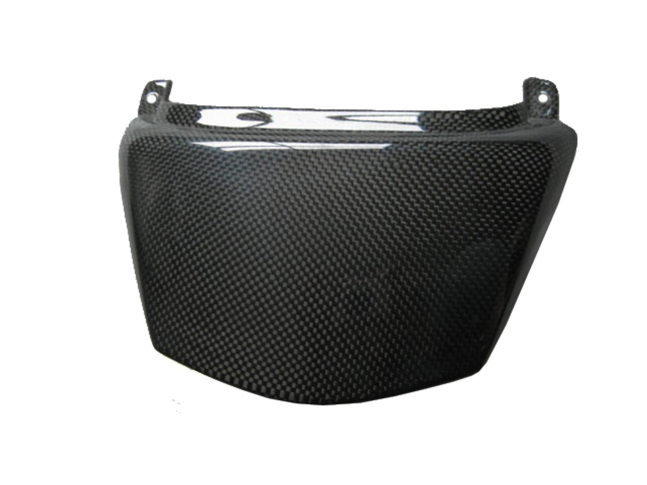 Glossy Plain Weave Carbon Fiber Seat End for Kawasaki ZX14/ZZR1400 06+