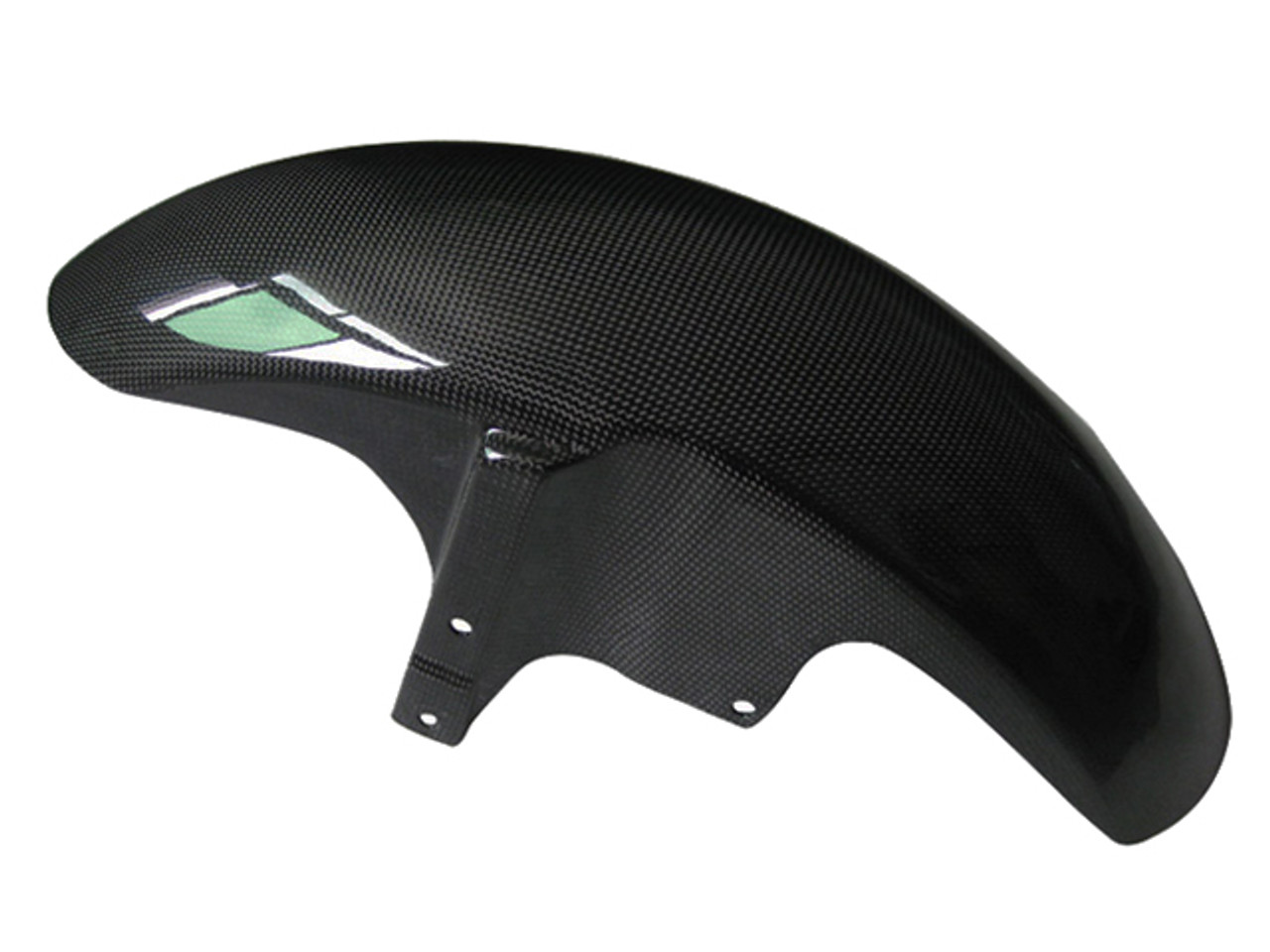 Glossy Plain Weave Carbon Fiber Front Fender for Yamaha MT-01 2006-2010