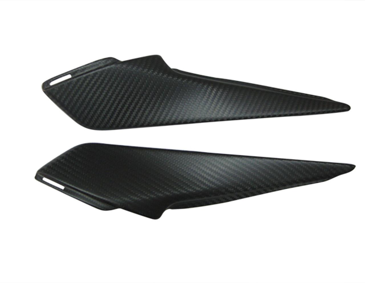 Matte Twill Weave Carbon Fiber Small Side Panels for Honda CBR 1000RR 12-16