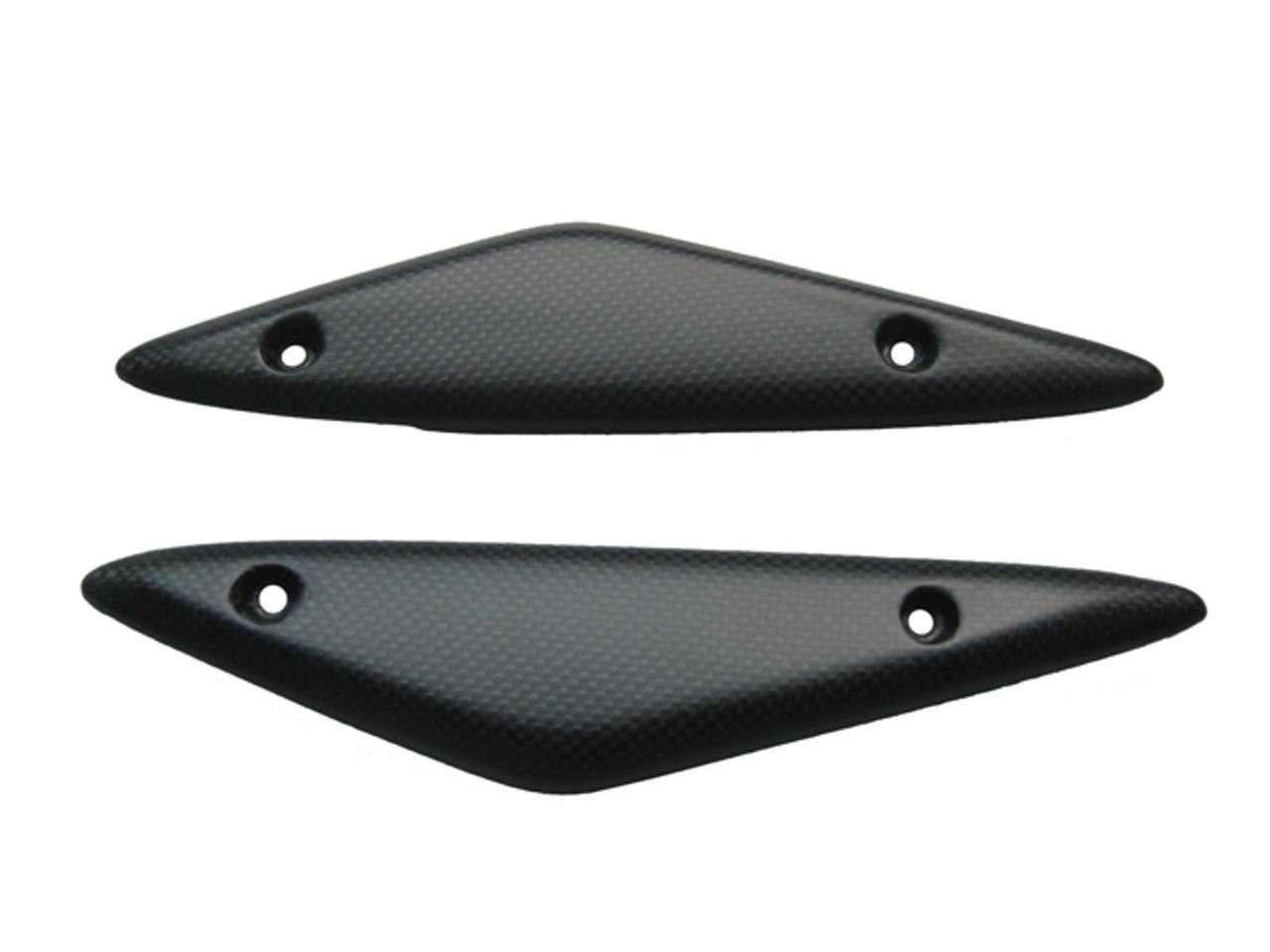 Front Body Panels in Matte Plain Weave Carbon Fiber for Ducati Hyperstrada, Hypermotard 821 2013+