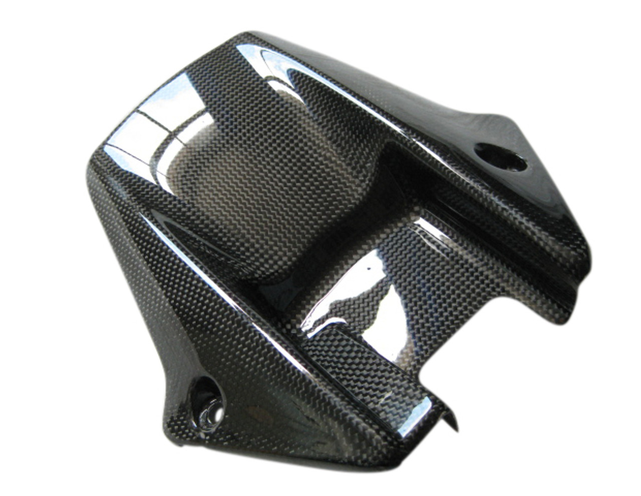 Glossy Plain Weave Carbon Fiber Rear Hugger for Honda CBR 1000RR 08-11