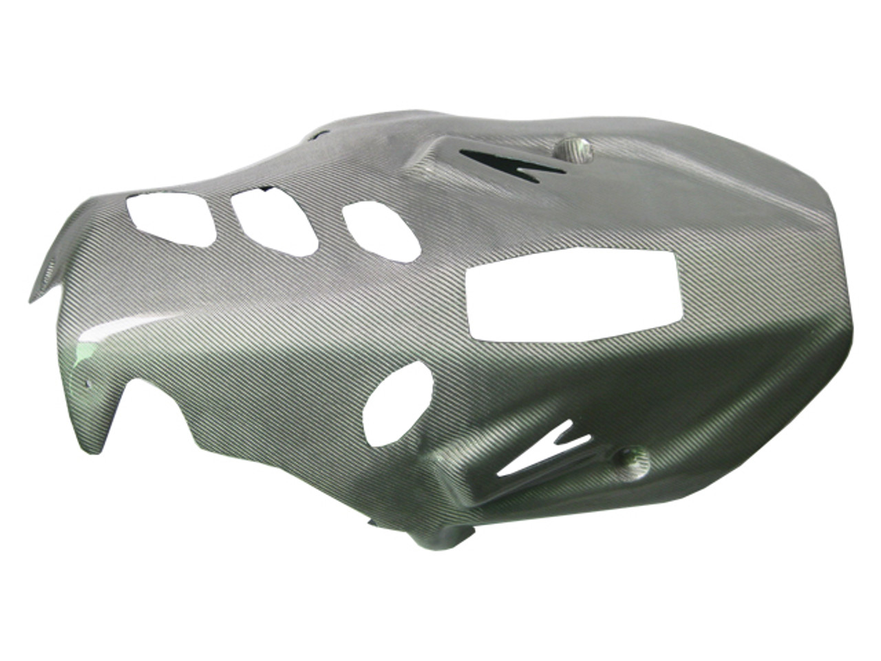 Custom Belly Pan in Carbon with Fiberglass for Suzuki B-King 07-12