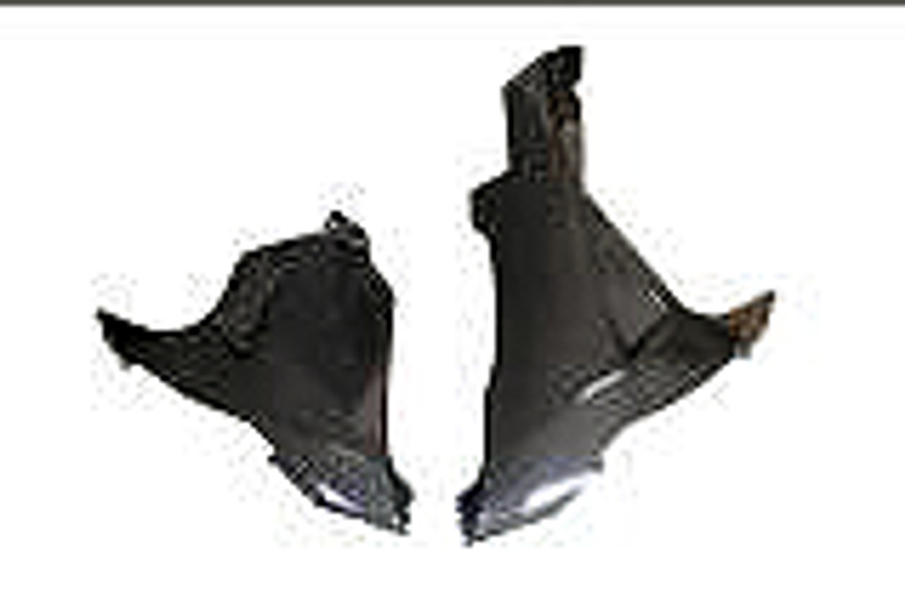 Belly Pan for Suzuki  GSXR 600, GSXR 750  2011-2019 in Glossy Plain Weave Carbon Fiber