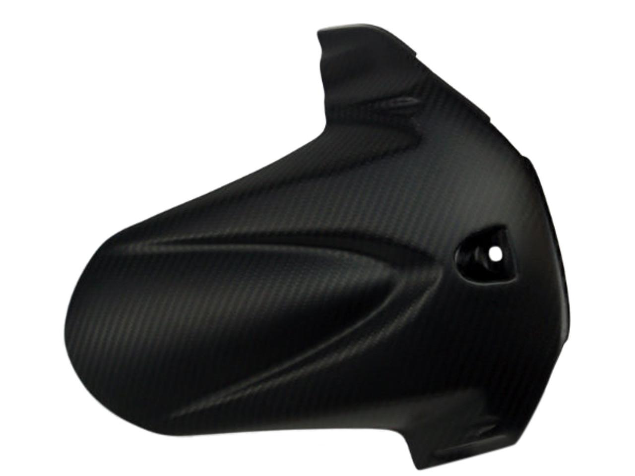 Rear Hugger  for Suzuki GSXR 600, GSXR 750 2011-2019 in Glossy Twill Weave Carbon Fiber