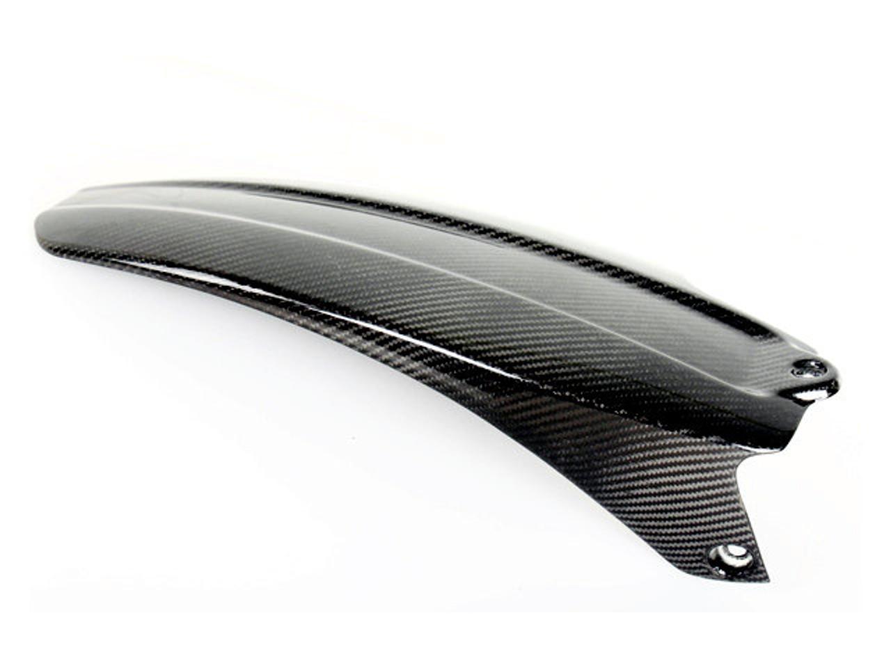 Matte Plain Weave Carbon Fiber Rear Hugger