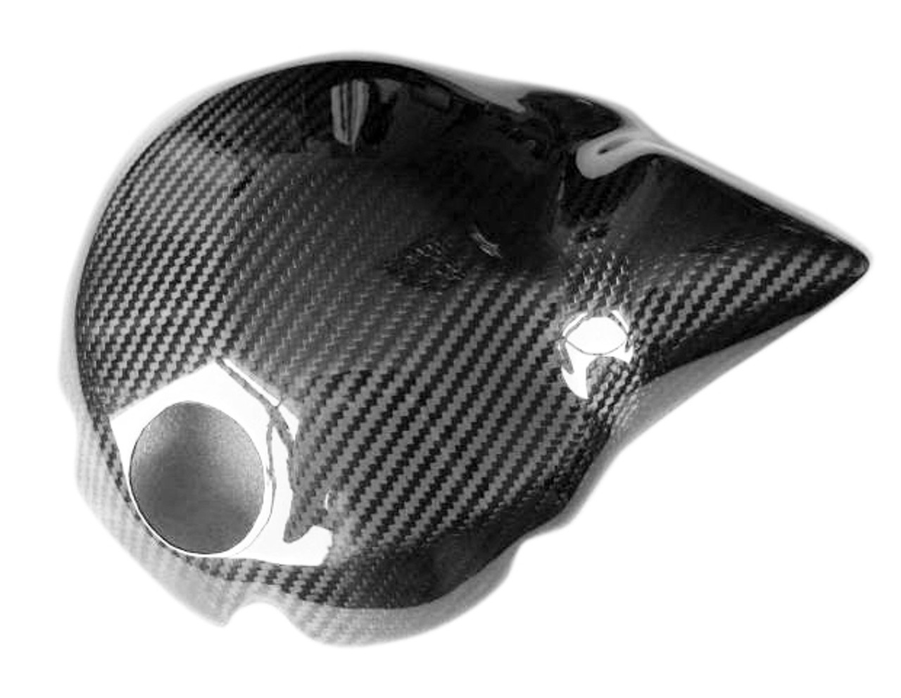 Glossy Twill Weave Carbon Fiber  Clutch Cover for Yamaha R1 04-06