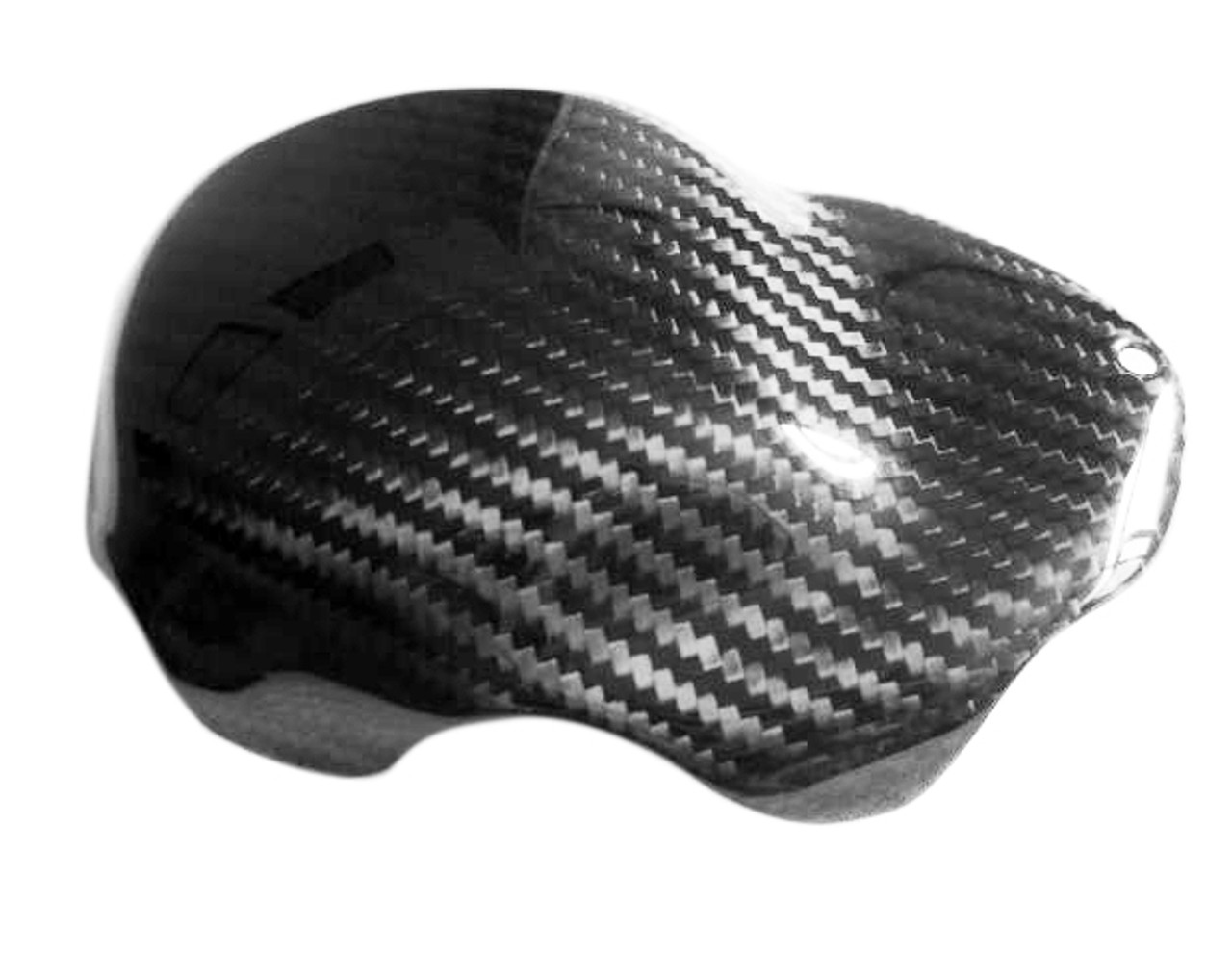 Glossy Twill Weave Carbon Fiber Alternator Cover Guard for Yamaha R1 04-08, FZ-1 06-13, FZ8 10-13
