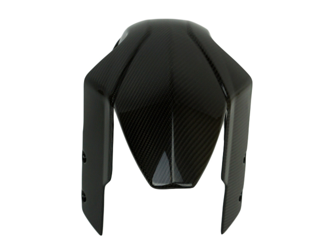 Front Fender in Glossy Twill weave Carbon Fiber for KTM Superduke / R 990 2007 - 2013
