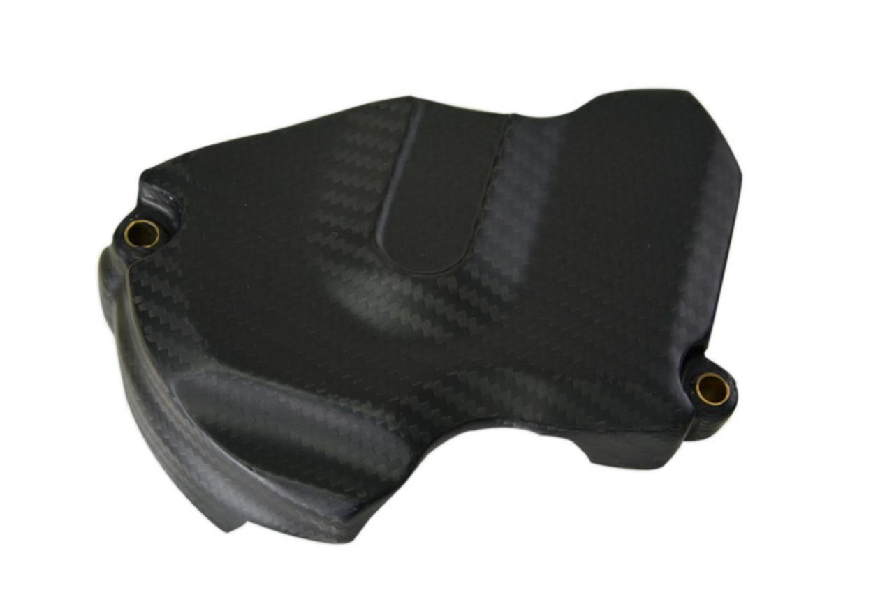 Sprocket Cover in Matte Twill Weave Carbon Fiber for KTM 1290 Super Duke R, GT