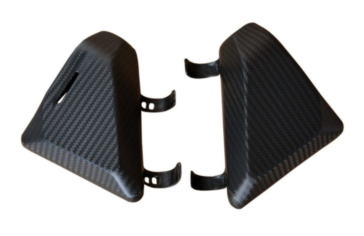 Side Panels in Matte Twill Weave Carbon Fiber for KTM 1290 Super Duke R