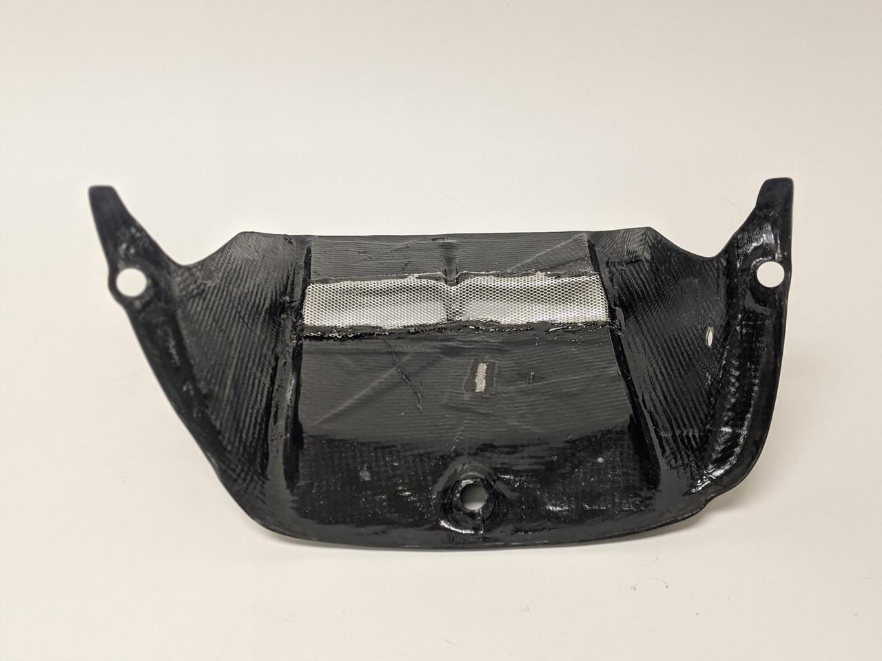 Rear Hugger in 100% Carbon Fiber for Yamaha R6 2006+