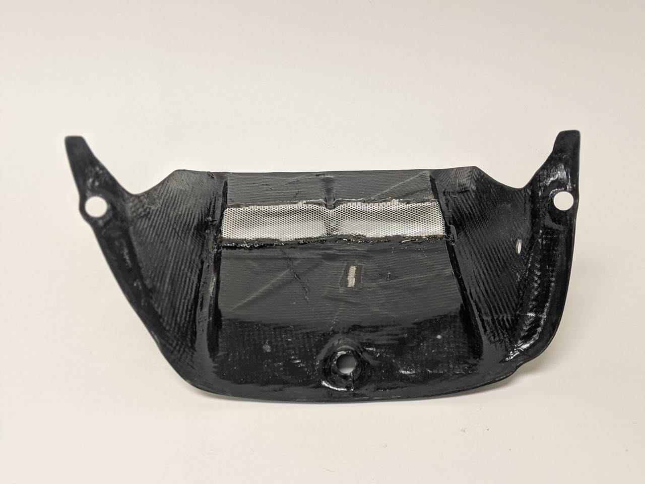 Rear Hugger in Carbon with Fiberglass for Yamaha R6 2006+