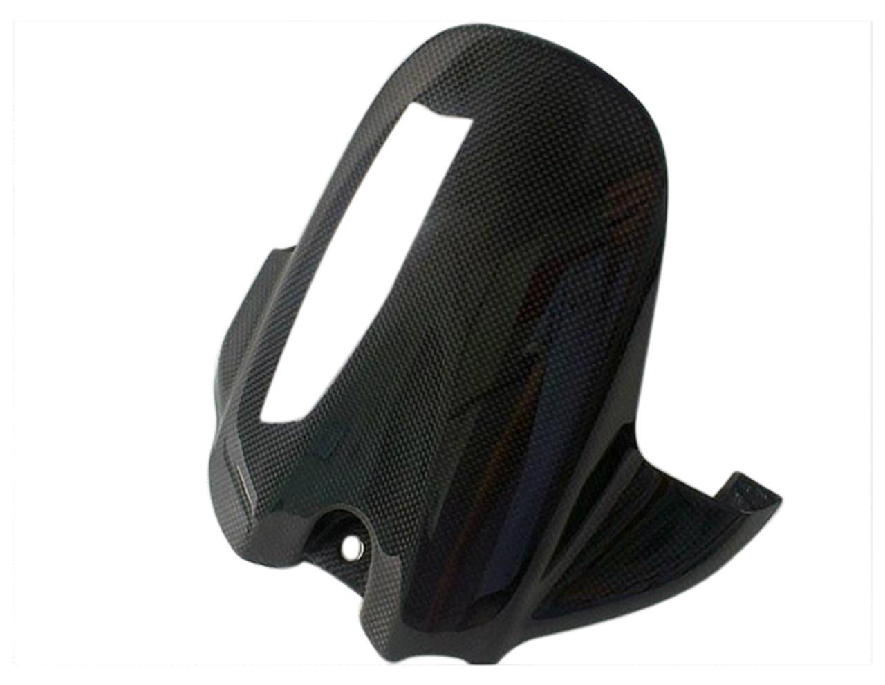 Rear Hugger in Glossy Plain Weave Carbon Fiber for Suzuki GSXR 600, GSXR 750 2006-2010