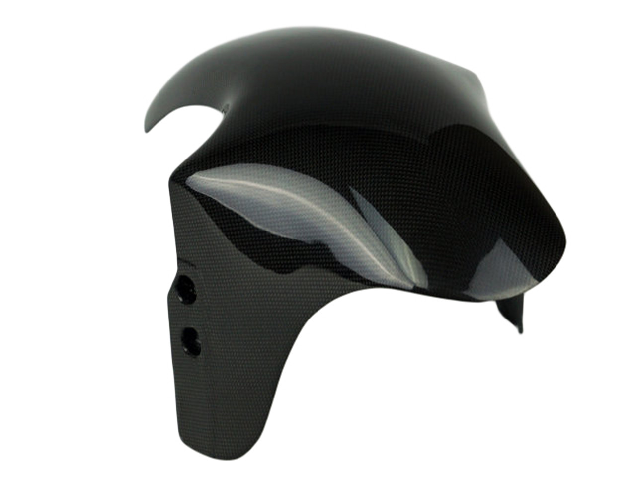 Front Fender in Plain Glossy Weave Carbon Fiber for Ducati 888, 851, 1000SS, 900SS, 800SS, 750SS, 600SS