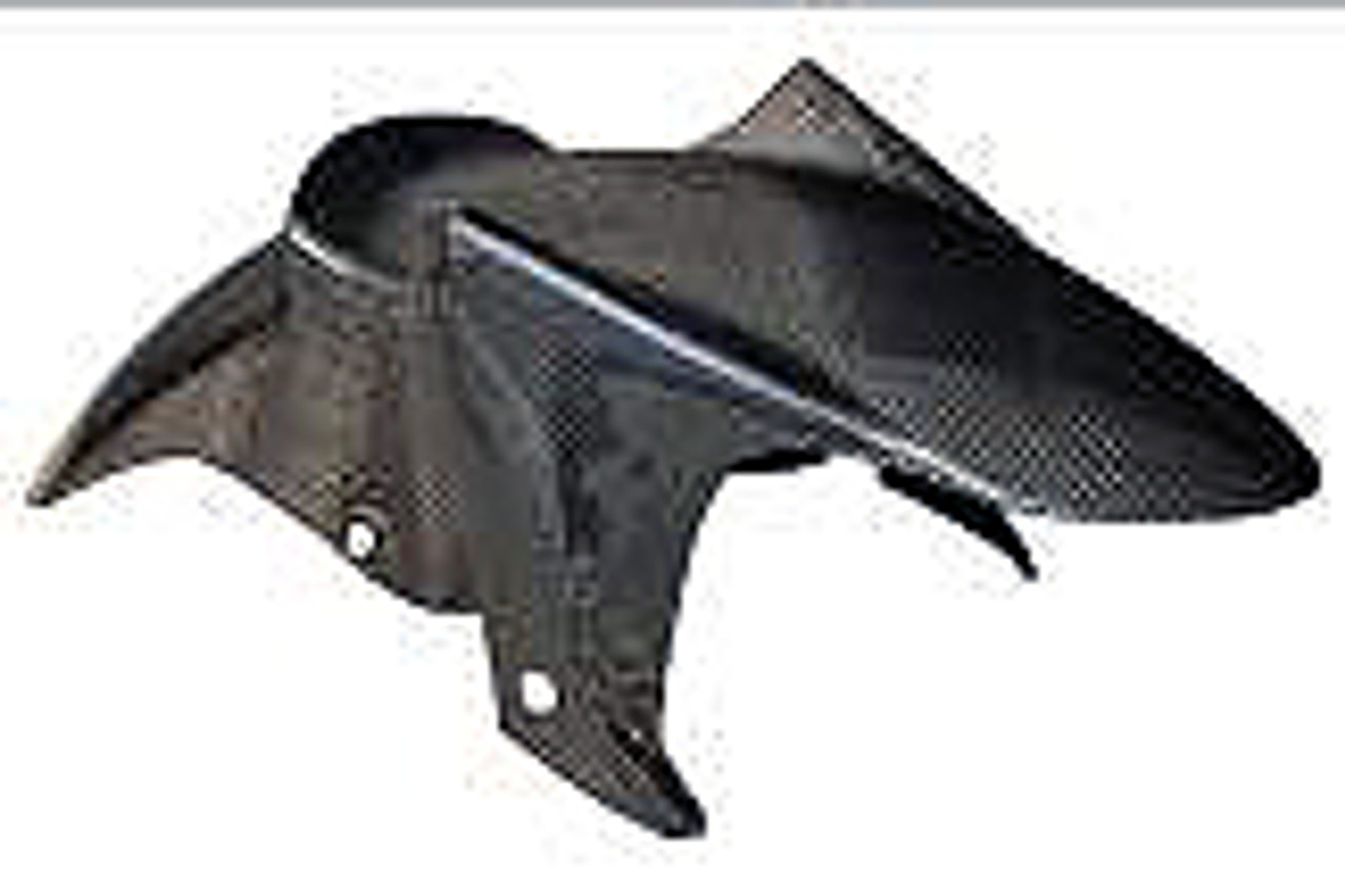 Front Fender in Carbon with Fiberglass for Yamaha FZ6, Fazer 600 2007-2011