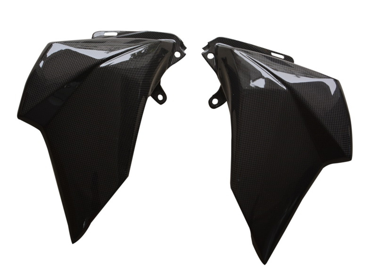Front Side Fairings in Carbon with Fiberglass for Kawasaki Z800