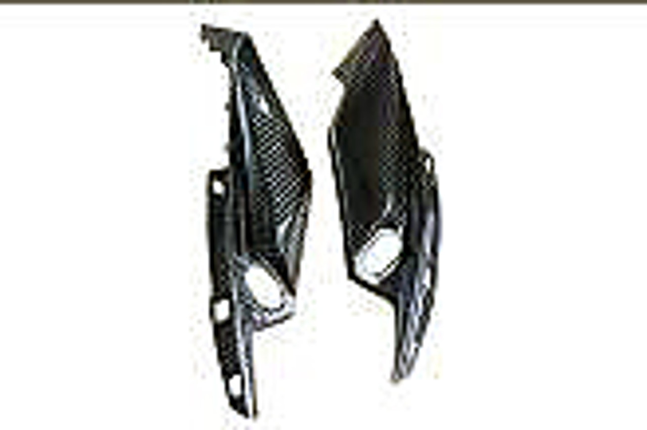 Front Fairing Sides in Carbon with Fiberglass for Kawasaki Z750R 07-12