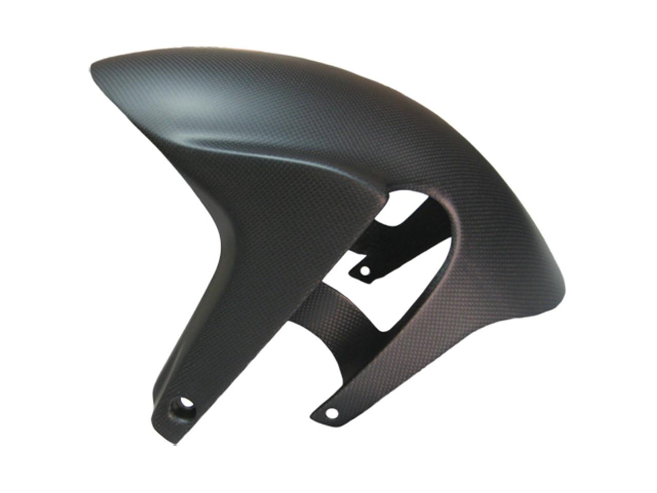 Matte Plain Weave Carbon Fiber Front Fender for Aprilia RSV4 2009+, Tuono V4 2011+