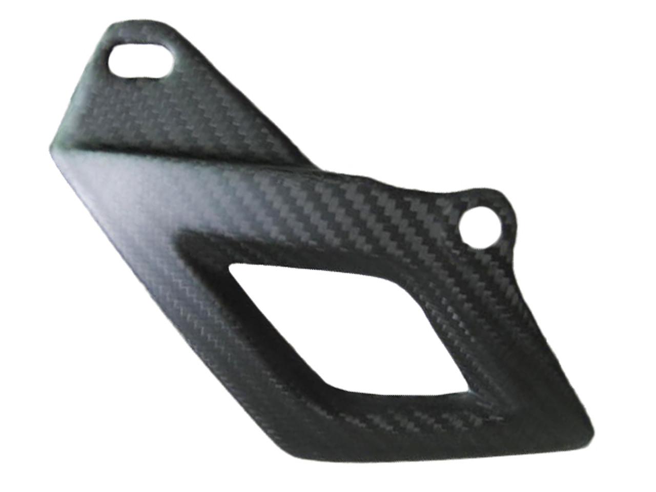 Matte Twill Weave Carbon Fiber Lower Chain Guard for Aprilia RSV4 2009+ and Tuono V4 2011+