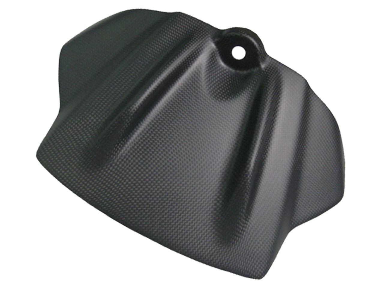 Matte Plain Weave Carbon Fiber Tank Front Cover for Aprilia RSV4 09-12, Tuono V4 11-13