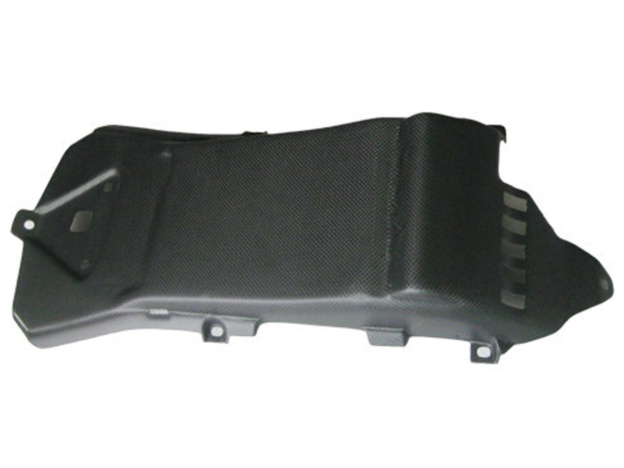 Matte Plain Weave Carbon Fiber Undertail for Aprilia RSV4 09+, Tuono V4 11+