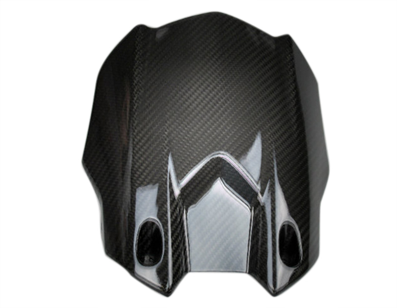 Rear Hugger in Glossy Twill Weave Carbon Fiber for Yamaha R1 2015+, FZ-10/MT-10 2017+