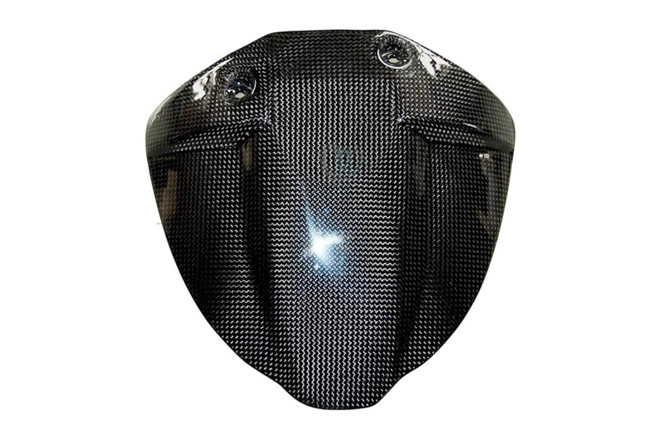 Rear Hugger in Glossy Plain Weave Carbon with Fiberglass for Buell XB9,XB12 03-05