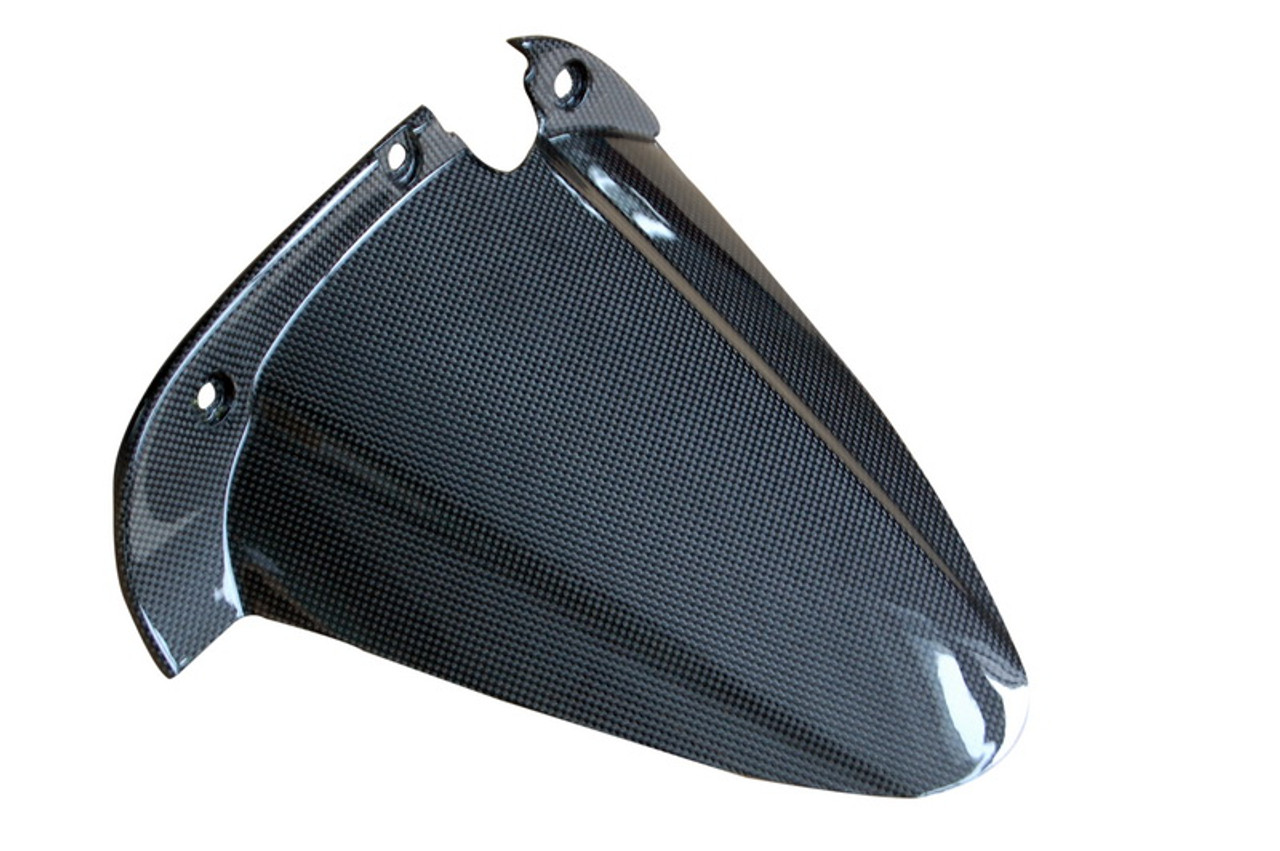 Rear Hugger (Style 2) in 100% Carbon Fiber for Buell XB series