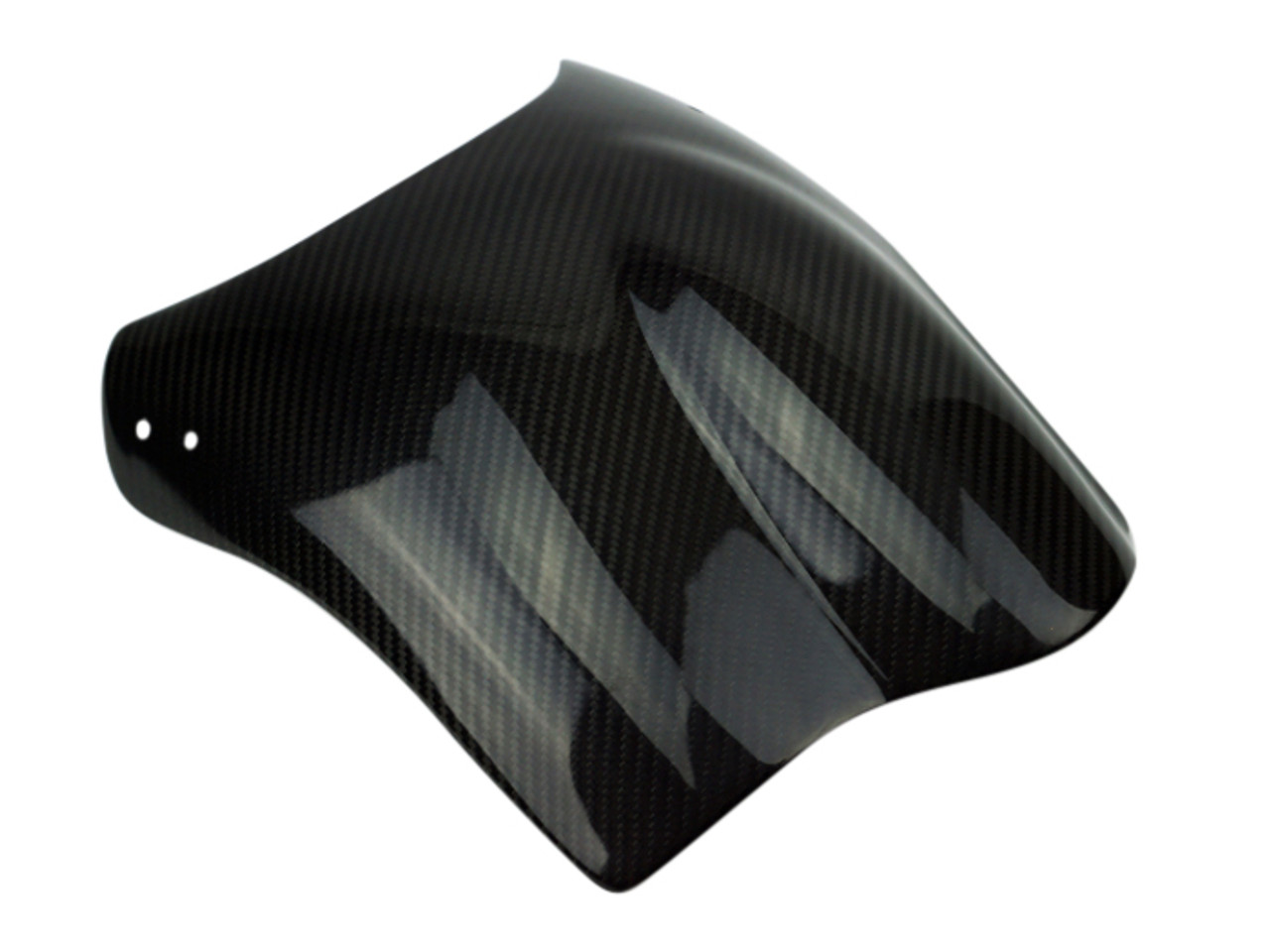 Windshield in Glossy Twill Weave Carbon Fiber for Buell S1