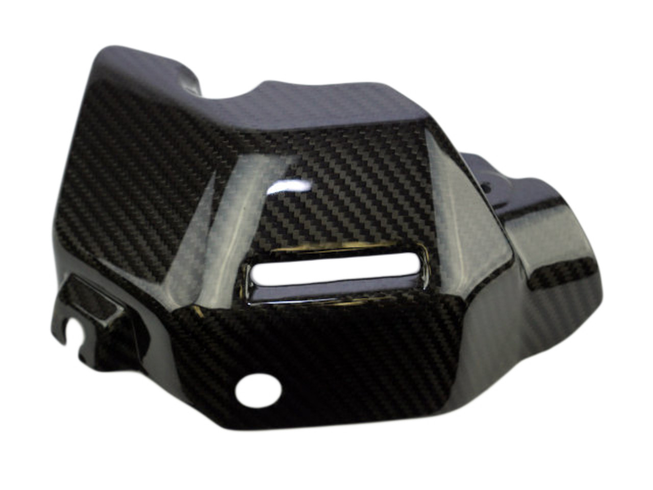 Water Cooler Cover in Glossy Twill Weave Carbon Fiber for Yamaha FZ-09/ MT-09/ FJ-09/ XSR900