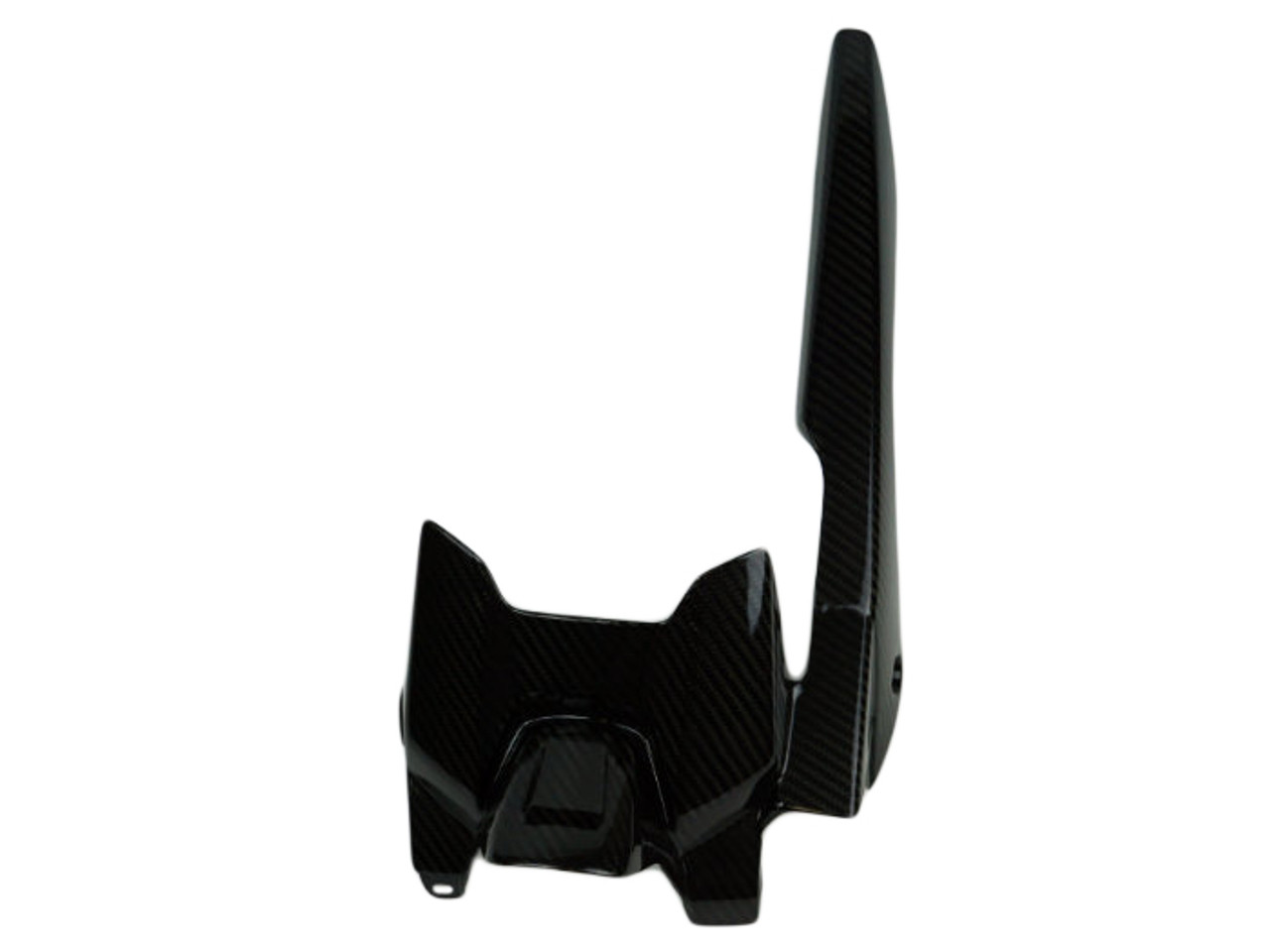 Rear Hugger with Chainguard in Glossy Twill Weave Carbon Fiber for Yamaha FZ-07/ MT-07 2015+