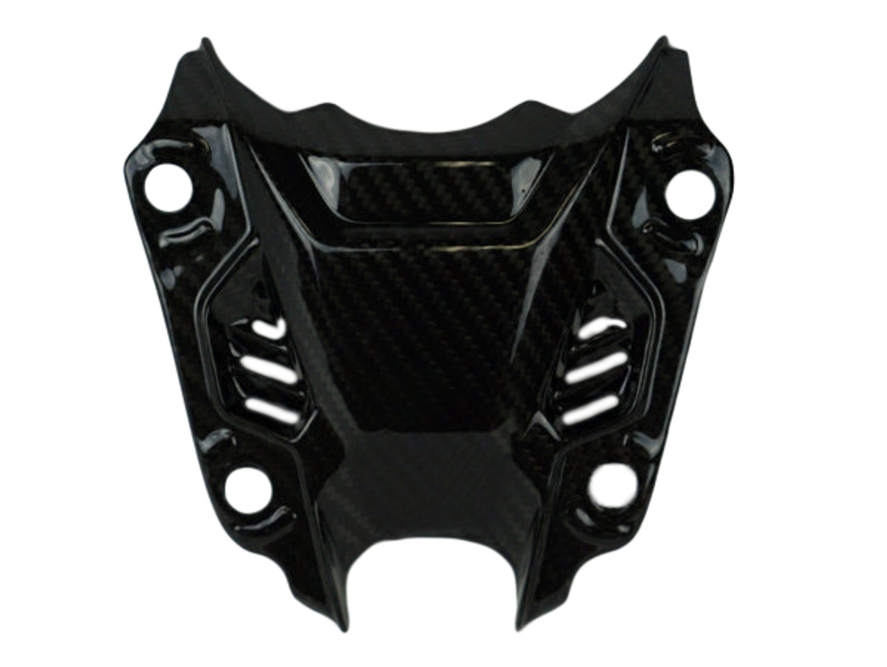 Top of the Headlight in Glossy Twill weave Carbon Fiber for Yamaha FZ-07/ MT-07