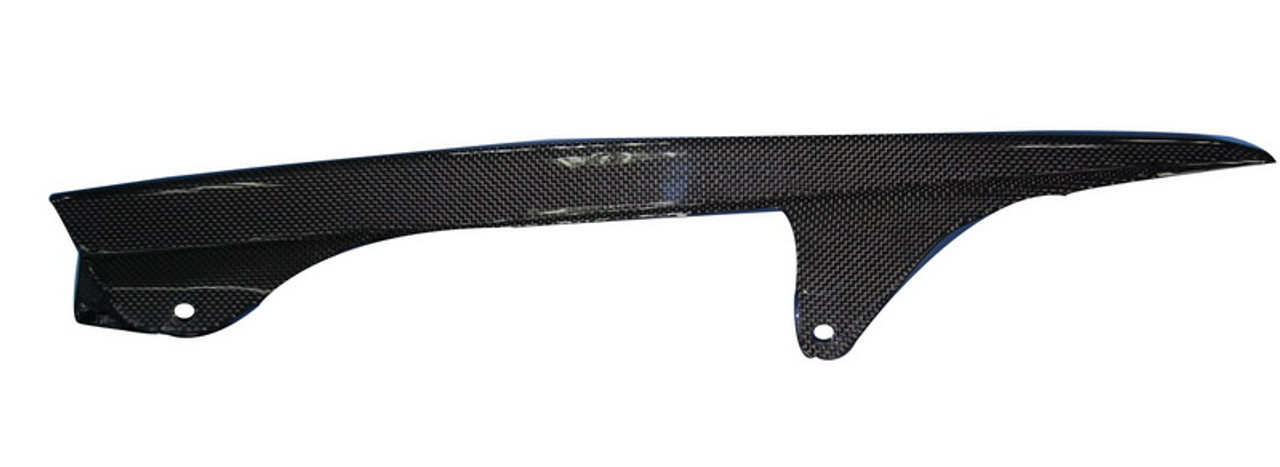 Chainguard in Glossy Plain Weave Carbon Fiber for Honda CBF600 Hornet 599 1998-2006