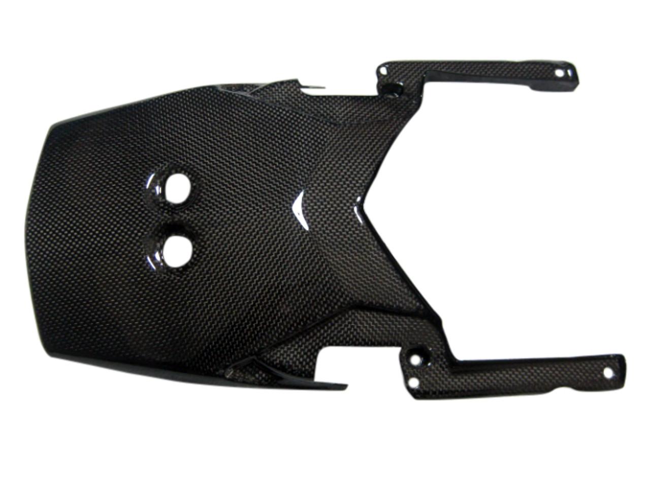 Undertray in Glossy Plain Weave Carbon Fiber for KTM Supermoto 990 SMR, ST,SE 2008-2013