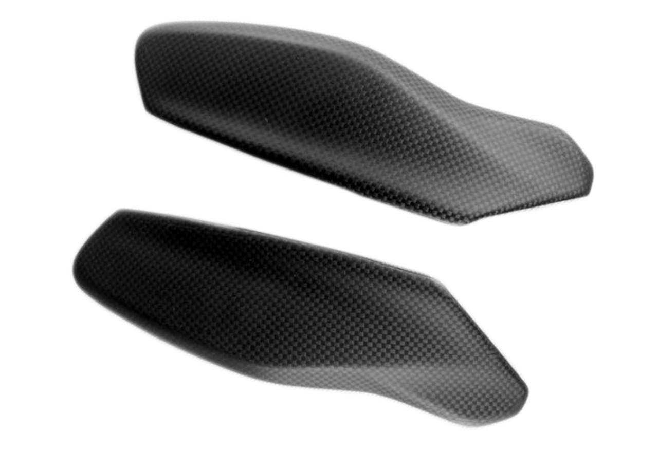 Upper Handguards in Matte Plain Weave Carbon Fiber for Ducati Multistrada 1200 2015-2017