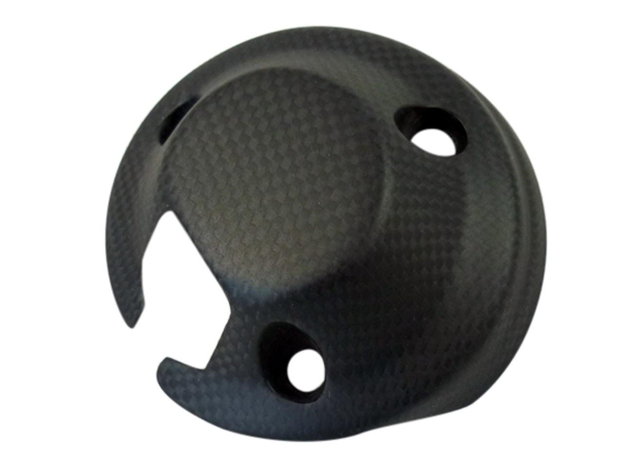 Cockpit Cover in Matte Plain Weave Carbon Fiber for Ducati Scrambler
