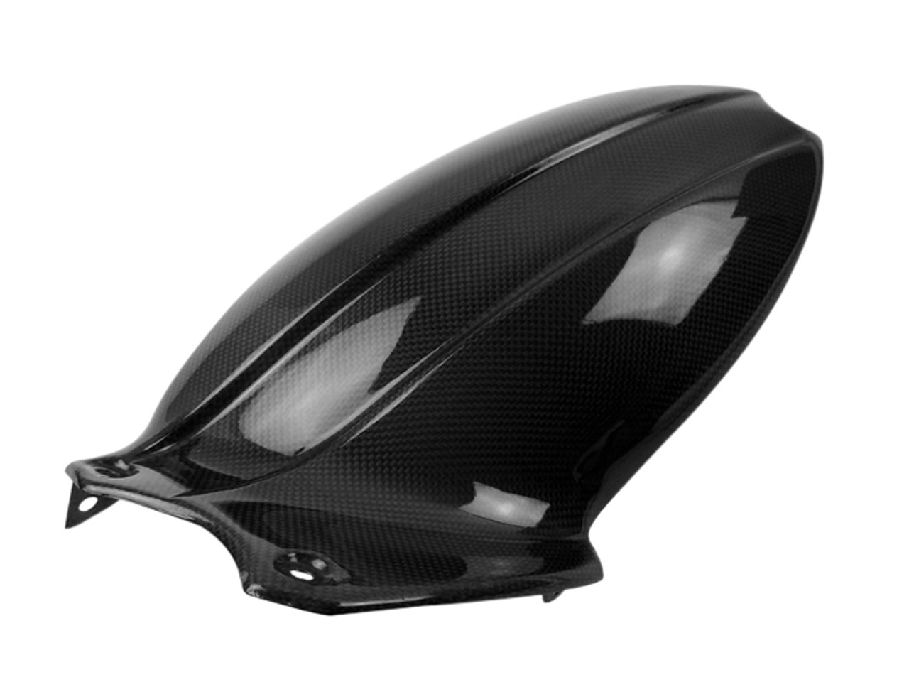 Rear Hugger in Glossy Plain Weave Carbon Fiber for Triumph Speed Triple 1050R 2016+