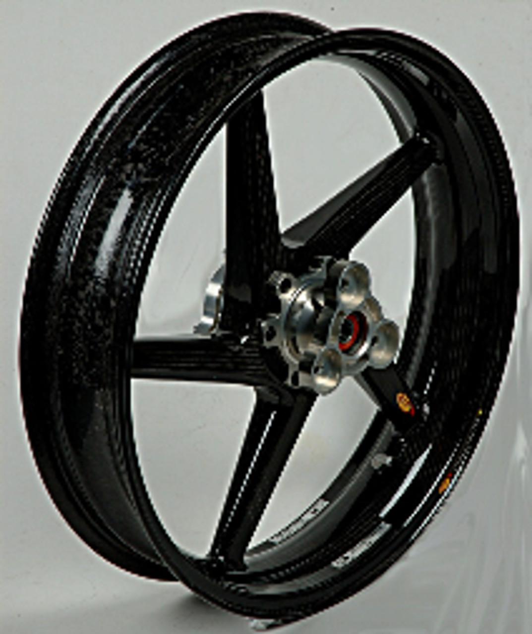 BST  Front Wheel 17 x 3.5 for Kawasaki ZX14 2006-2017, ZX10R 2006-2015, ZX6R 2005-2017