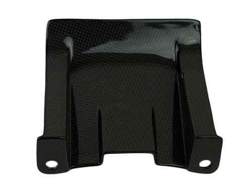 Rear Hugger in Glossy Plain Weave Carbon Fiber for Suzuki GSXR600 1996-2003