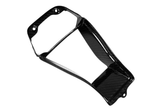 Front Upper Cowl in Glossy Twill Weave  Carbon Fiber for Kawasaki ZX10R 11-15
