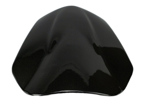 Windscreen in Glossy Plain Weave Carbon Fiber for Yamaha FZ-07-MT-07