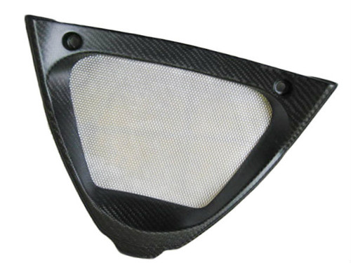 Matte Twill Weave Carbon Fiber V Piece for Aprilia RSV4 2009+