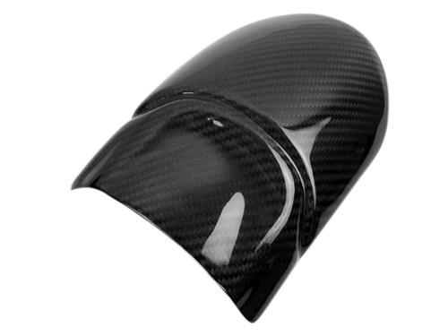 Front Fender Extension in Glossy Twill weave  Carbon Fiber for Ducati Scrambler Icon 2014+