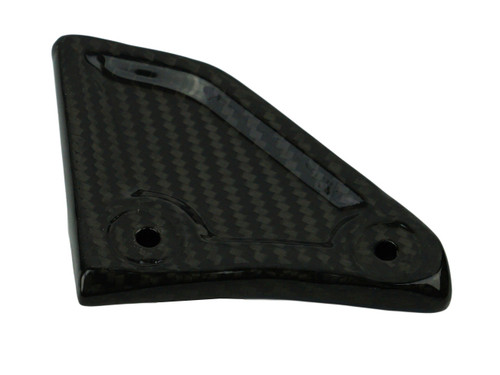 Chain Guide (Both Sides Finished) in Glossy Twill weave Carbon Fiber for KTM 1290 Super Adventure, 1190 Adventure