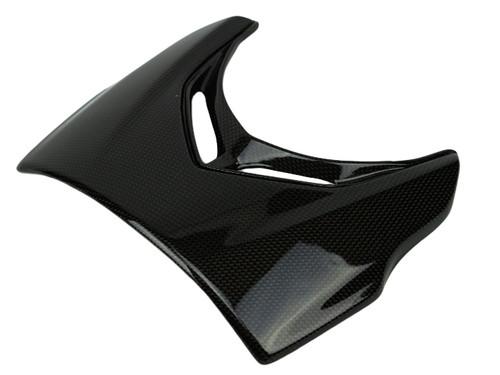 Headlight Cover in Glossy Plain Weave Carbon Fiber for Ducati Diavel 2015-2018